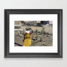 Jaipur Rubble Framed Art Print
