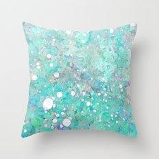 Marble Art V 17 #society6 #decor #buyart #lifestyle Throw Pillow