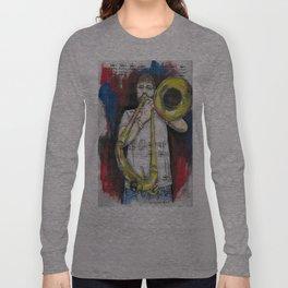 Jazz Trombone 2 Long Sleeve T-shirt