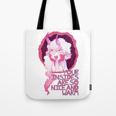 Nice and Warm Ver. 1 Tote Bag