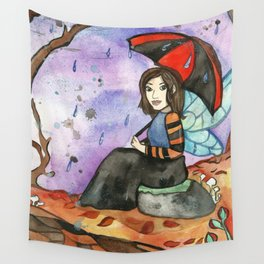 September Fairy Wall Tapestry