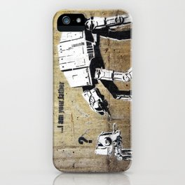 Banksy, I am your father iPhone Case