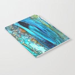 Doodle in blue Notebook