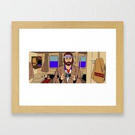 Richie Tenenbaum of The Royal Tenenbaums Framed Art Print