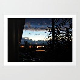 California, Grover Beach Dawn Twilight. Photo Canvas. Art Print