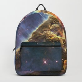 carina carina and her fuzzy psychedelia | space #12 Backpack