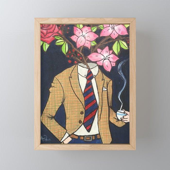 Professor Branch Framed Mini Art Print