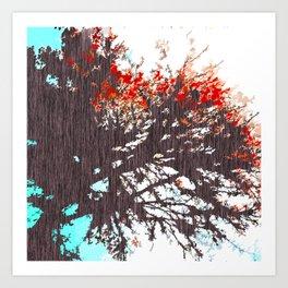 """Tree Blossoms"" Art Print"