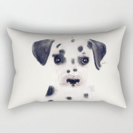 little dalmatian Rectangular Pillow