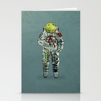 shadow of the colossus Stationery Cards featuring colossus by Seamless