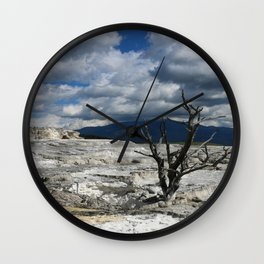 Minerva Spring and Terrace Wall Clock