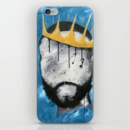 Naturally King BLUE iPhone Skin