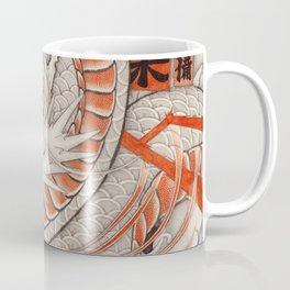 Japanese tattoo Typhoon dragon Coffee Mug