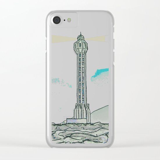 Lighthouse / Punta Lava La Palma Clear iPhone Case