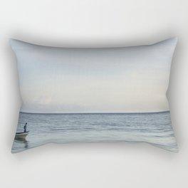 Calm Beach -2 Rectangular Pillow