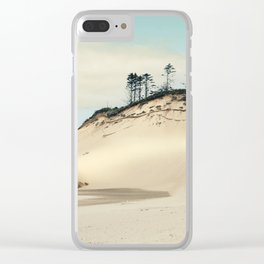 beach dunes Clear iPhone Case