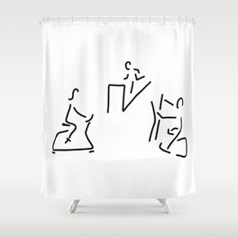 fitness hometrainer crosstrainer sport Shower Curtain