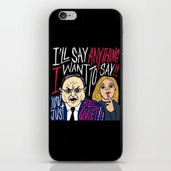 Cranky Rep. Don Young iPhone & iPod Skin