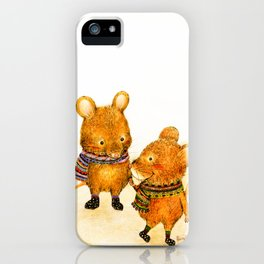 Taiwan Field Mouse iPhone Case