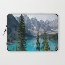 Moraine Lake - Trees Laptop Sleeve