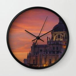 Madrid Spain Wall Clock
