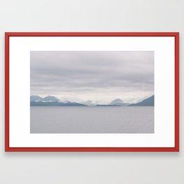 On the Ferry Framed Art Print