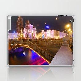 Ljubljana Lights Laptop & iPad Skin