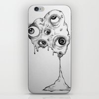 the thing iPhone & iPod Skins featuring Thing by Isabel Peace
