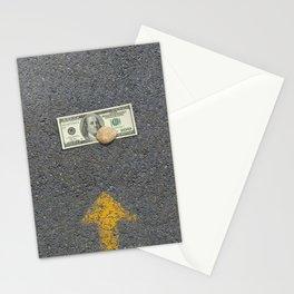 Up Road - Sideline money Stationery Cards