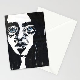 Staring into the void Stationery Cards