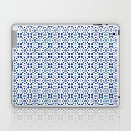 indigo clover tiles Laptop & iPad Skin