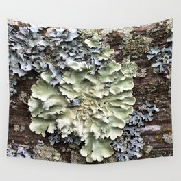 Nature's Fence Flowers Wall Tapestry