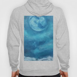alone in the midnight sky Hoody