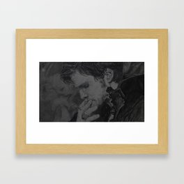 It is what the kiss exposed Framed Art Print