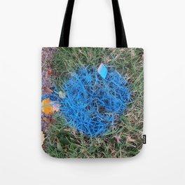 NVSV SPCS_blue grass Tote Bag