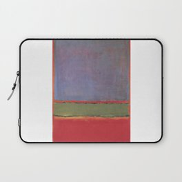 1951 No 6 Violet Green and Red by Mark Rothko Laptop Sleeve