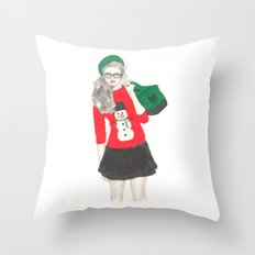 Christmas Fashion Throw Pillow