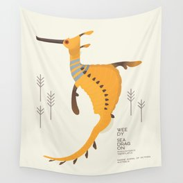 Weedy Seadragon, Marine Animal of Victoria, Australia Wall Tapestry