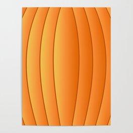Bland Pumpkin Poster
