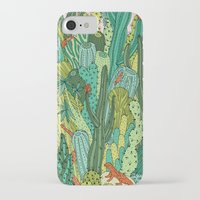 cacti iPhone & iPod Cases featuring Cacti by Gaby D'Alessandro