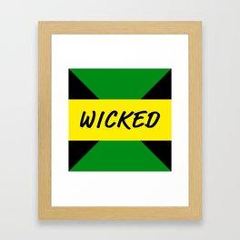 Jamaican Design 444 Framed Art Print