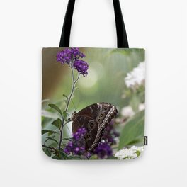 Peaceful Purple Tote Bag