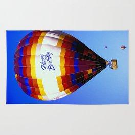 Happy Birthday Balloon Rug