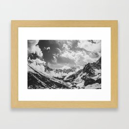 Everest base camp Framed Art Print