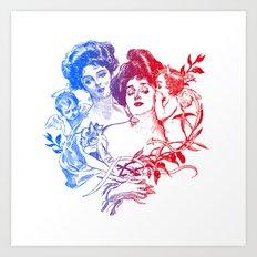 Little Whispers Art Print
