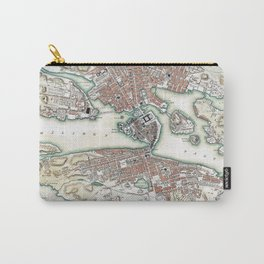 Plan of Stockholm - 1836 Carry-All Pouch