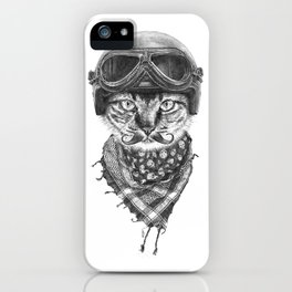 Don't Pussy Me iPhone Case