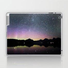 northern lights over lake mcdonald Laptop & iPad Skin