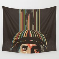 danny haas Wall Tapestries featuring Relativity by Danny Haas