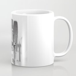 Microphone black and white Coffee Mug